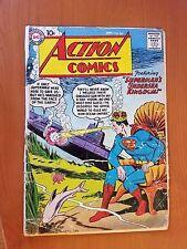 DC Action Comics, Vol. 1 # 244 (1st Print) The Super-Merman Of The Sea