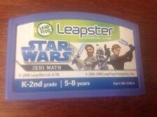 LeapFrog Leapster STAR WARS JEDI MATH Learning Game Cartridge