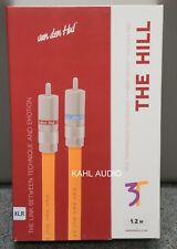 Van den Hul 3T The Hill Hybrid interconnect cables. 1.2m XLR pair. NEW. $1,300