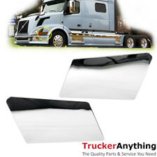 Fender Trim Chrome for Volvo VNL 04-15 Right Left RH LH Side Stick-on ABS 2pc