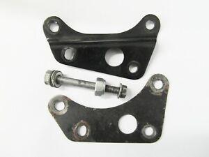 2 x Original Motorhalter Motor vorne - front Bracket Holder Engine  Honda CY 50