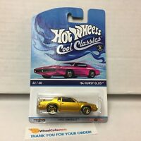 '84 Hurst Olds * Hot Wheels Cool Classics pink Card * G19