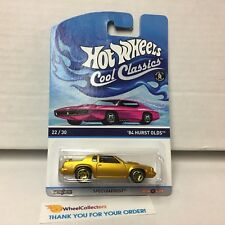'84 Hurst Olds * Hot Wheels Cool Classics pink Card * G41