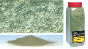 FL634 Flocage herbe Vert Clair electrostatique décors Train Woodland Scenics