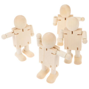 1Pc Novelty Wooden Robot Toy Learning Transformation Colorful Wooden toy for ^qi
