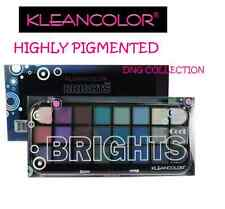 24 shade KleanColor COOL brights Eyeshadow Palette brown BLUE day NIGHT naked