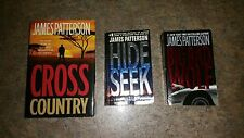 James Patterson SET OF THREE BOOKS