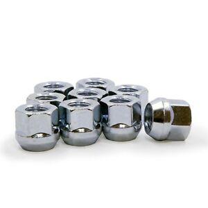 10 Lug Nuts Open End Bulge Acorn 12x1.5 3/4 Hex fits Mazda