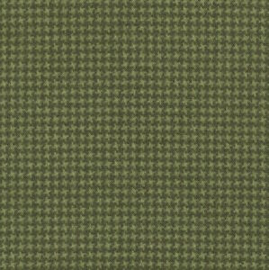 Maywood Studio Woolies Tiny Houndstooth Green MASF18122-G2 100% Cotton Flannel