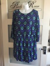 Fab Sparkly Dress By Monsoon,  Fusion Range Size 14