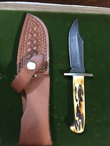 Bear & Son India Stag Bone 6 1/2 Baby Bowie