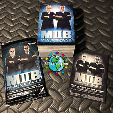 Men In Black Ii Complete 81-Trading Card Set 2002 Inkworks +Wrapper/Promo Insert
