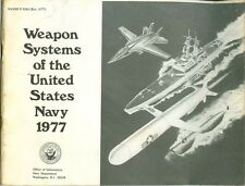 1977 Weapon Systems of the United States Navy Brochure