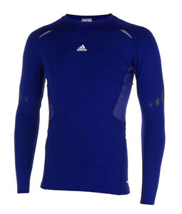 Functional Shirt Adidas Techfit Prep Long Sleeve Ls P, Sleeves, Blue