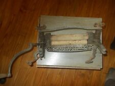 Antique LOVELL BICYCLE  Clothes Wringer Cast Iron  No.740 Pat. Pending