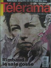 2182 RIMBAUD MC SOLAAR LA WARNER HENRY MILLER BENEIX BESSON CARAX TELERAMA 1991