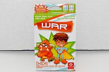 Cartamundi WAR 2 in 1 Card Game w Rules for War & Memory Educational for Kids 3+