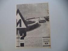 advertising Pubblicità 1964 INNOCENTI MORRIS IM3 IM 3