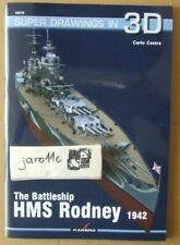 *The Battleship HMS Rodney - Super Drawings in 3D - Kagero ENGLISH NEW!!!
