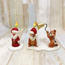 Wdcc Chip And Dale Chips Christmas Santa Candle With Extra Disney