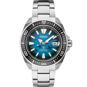 Seiko Prospex Automatic Diver KING SAMURAI Blue Dial Men's Watch SRPE33