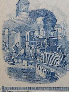 1874 Connecticut Railroad Bank Check RN-D1