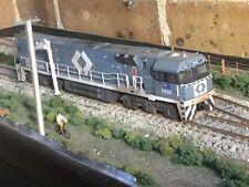 National Rail NR diesel locomotive NR60 SteelLink with DCC weathered in HO