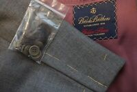 Brooks Brothers Golden Fleece Gray Wool Sport Coat Jacket Sz 48L BRAND NEW