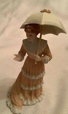 Home Interior Miss Georgia Southern Lady Figurine with Parasol/Umbrella