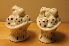 Lenox Easter Basket Salt & Pepper Shakers Nib