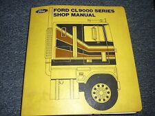 1978 FORD CL9000 CL-9000 SERIES TRUCKS SHOP MANUAL BIND