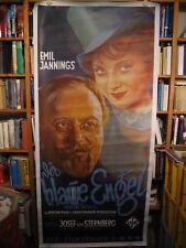 Der Blaue Engel - Riesenposter - Filmplakat - Marlene Dietrich - Emil Jannings