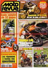 MOTO REVUE 3513 KAWASAKI ZX-6 R 636 DUCATI 916 Monster S4 GUZZI V11 TRIUMPH 600