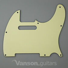 NEW Vanson 3ply Scratchplate for Telecaster® Tele®* projects Pickguard TC1