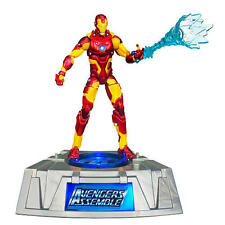 The Avengers Iron Man Marvel Universe Exclusive Figure Light Up Base! NIB