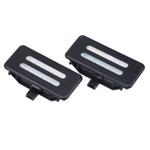 1Pair LED Vanity Front Mirror Lights For BMW E92 3 Series Coupe 2007-2013