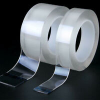 Double-sided Tape Traceless Washable Adhesive Tape Nano Invisible Gel Clear Tape