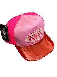 Authentic Brand New Von Dutch Trucker Cap Hat Special Edition Magic Visor UV400