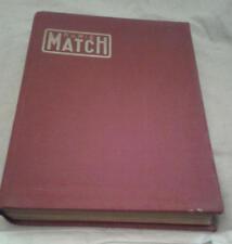 Lot 27 Paris Match Reliure Toile Bordeaux semaine 1 juillet au 30 décembre 1950
