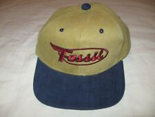 Fossil Snapback Hat Cap Mens One Size Guys Vintage 90s Fossil Watches