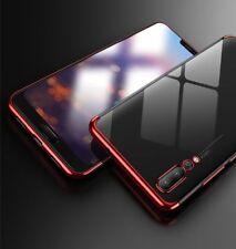 ^ HTC u12 Life Rosso Bumper Elegance New Protezione Astuccio Guscio in Silicone Cover