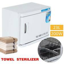 23l Hot Towel Warmer UV Sterilizer Cabinet Heater Salon Disinfection Beauty