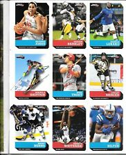 New listing MIKAELA SHIFFRIN 2017 SPORTS ILLUSTRATED FOR KIDS UNCUT CARD SHEET MIKE TROUT