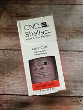 CND Shellac Lavender Lace 100% Original Made in USA Kit Set Top