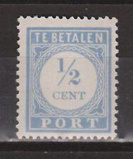 P44 Port nr. 44 ongebruikt MLH NVPH Nederland Netherlands Pays Bas due portzegel