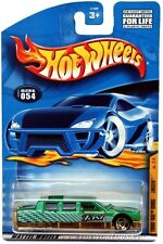 2001 Hot Wheels #54 Turbo Taxi Limozeen malaysia base