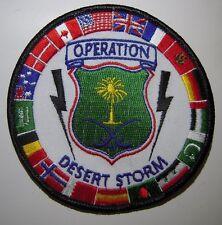 *Operation Desert Storm* Flight Jacket Patch - 1992