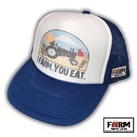I Farm. You Eat. Trucker Hat by Farm Wear