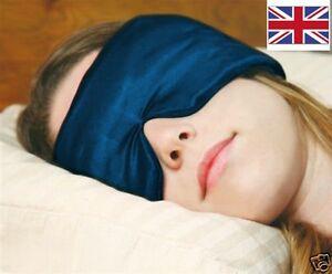 Sleep Mask / Eye Mask & earplugs comfy noise reduction blindfold - Sleep Master