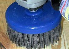 Teller-Abrasivbürste 130 x 55 Schleifnylon SiC K80 M14 für Winkel+Bürstschleifer